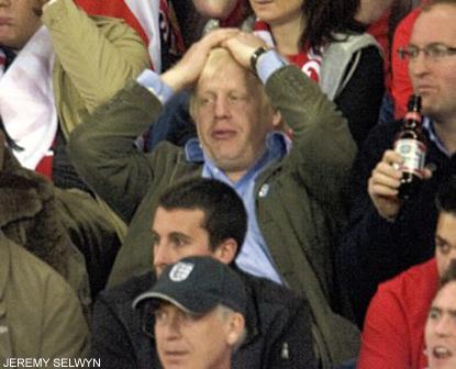Boris Johnson - Soccer World Cup 2010