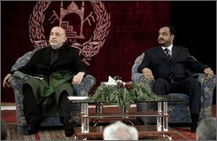 Mohammed Omar, Hamid Karzai