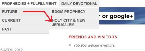 The Holy City - not a future prophecy