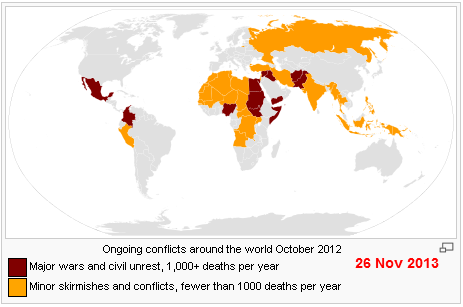 List of ongoing armed conflicts   Wikipedia  the free encyclopedia