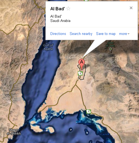 Al Bad   Tabuk Province  Saudi Arabia   Google Maps