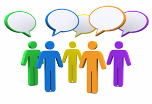 email discussion group