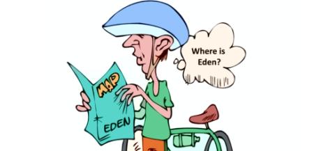 where is eden
